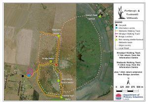 Fivebough Wetlands Site Map - September 2016